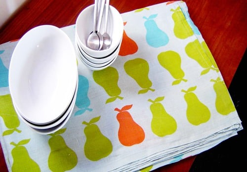 Etsy Find: PataPri Pear Tablecloth