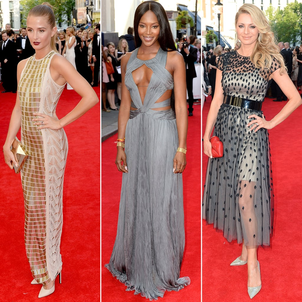 Who Wore What at the 2014 TV BAFTAs