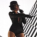 "Rihanna belted out her hit ""Umbrella"" in 2007."
