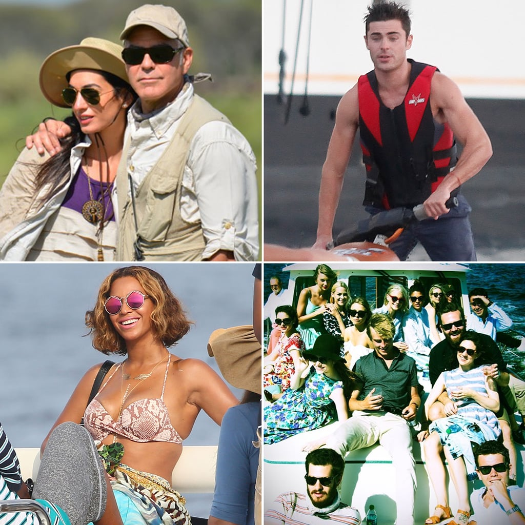 Celebrity Vacation Pictures 2014