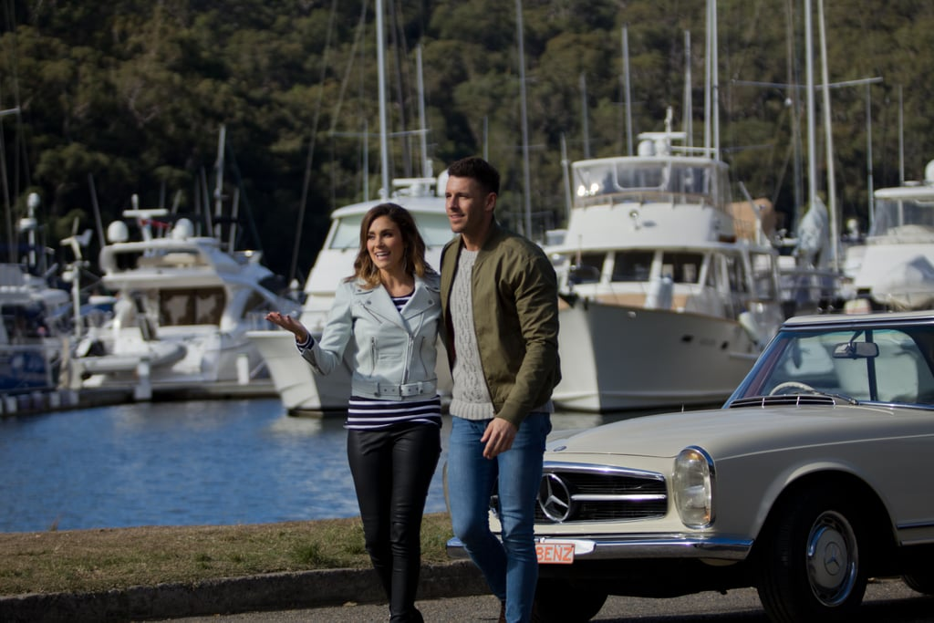 They Went to a Pretty Marina in a Cool Car
