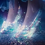 Her glass slippers are the stuff of fashion-girl dreams.