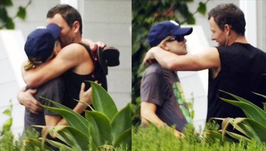 Photos of Kate Hudson and Lance Armstrong Kissing