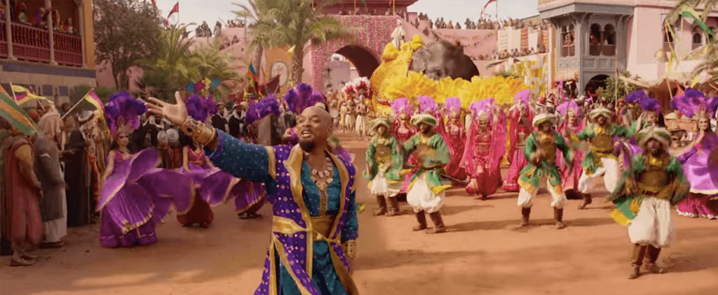 "Will Smith Singing ""Prince Ali"" From Aladdin Video"