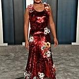 Yalitza Aparicio at the Vanity Fair Oscars Afterparty 2020