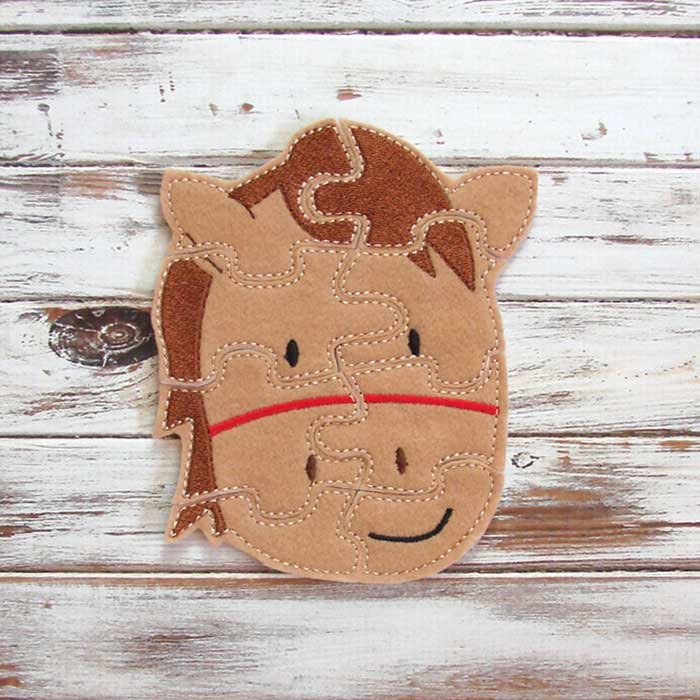 Felt Horse Puzzle ($7)