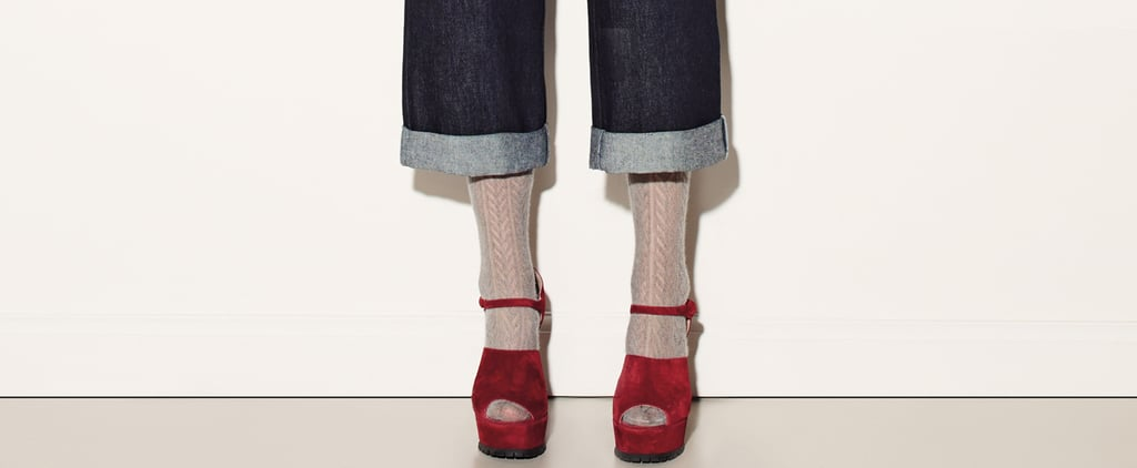 Cropped Wide-Leg Jeans For Fall 2015