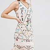 Frock and Frill Beaded Fringe Hem Dress (£150)