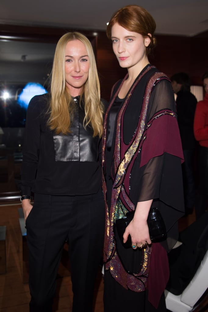 Frida Giannini and Florence Welch at the Gucci screening of The Director.