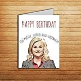Leslie Knope Birthday Card