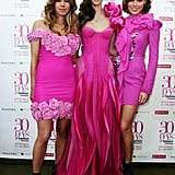 Pip Edwards, Nikki Phillip and Zoe Naylor at the 30 Days of Fashion and Beauty launch in 2009