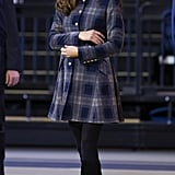 Kate Middleton in Scotland in 2013