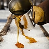New Hampshire: Maple Syrup on Snow