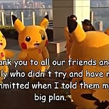 Ash Ketchum would totally approve of all these Pikachus doing this.