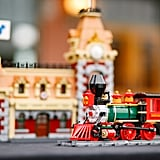 A Close-Up of the Lego Disney Train