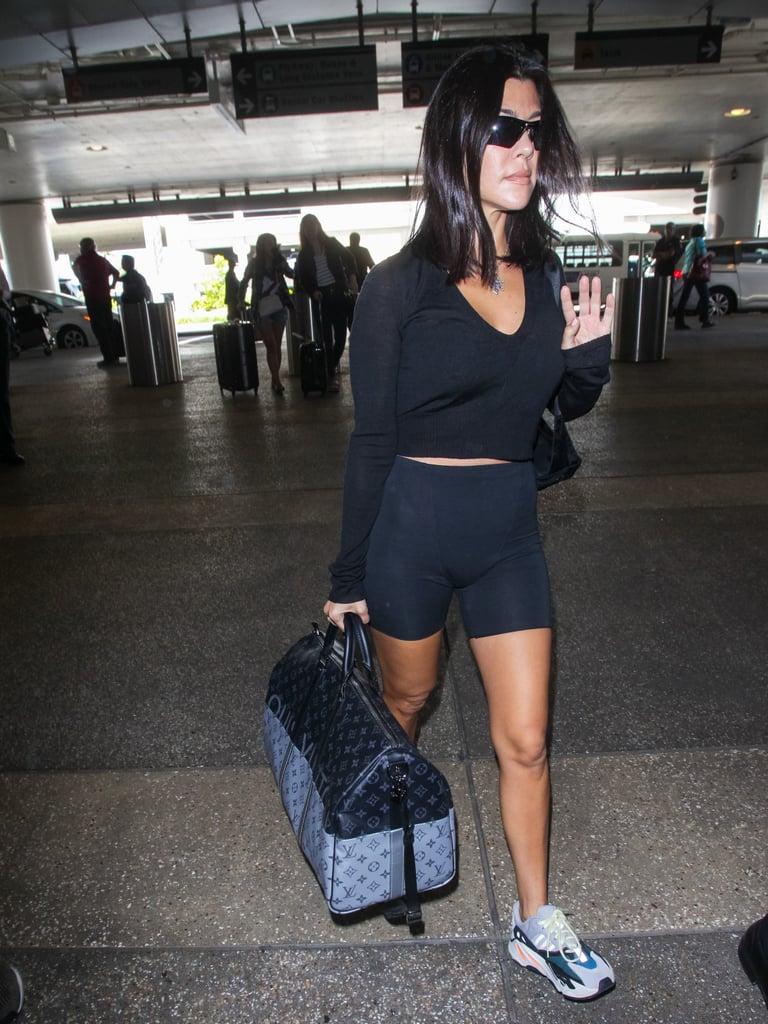 508136b4cd Kourtney s Louis Vuitton Weekender Bag
