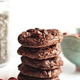 Flourless Cranberry Chocolate Chia Cookies