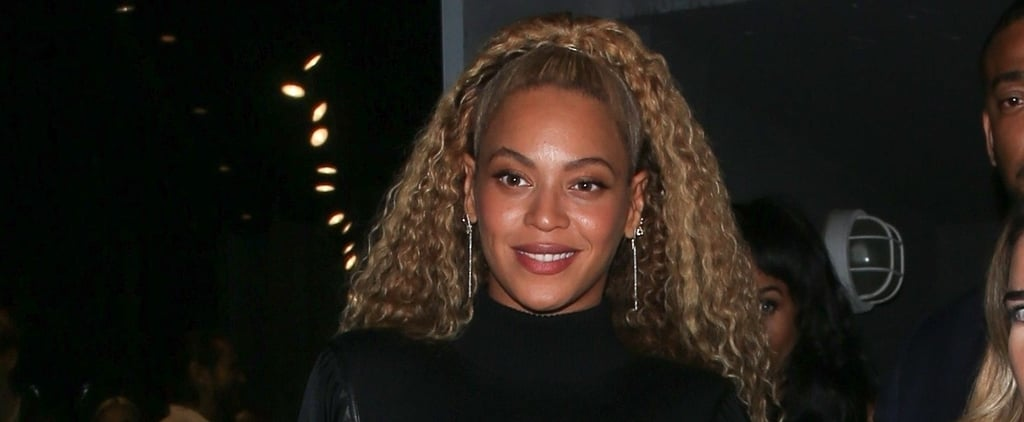 Beyoncé's Black Studded Heels