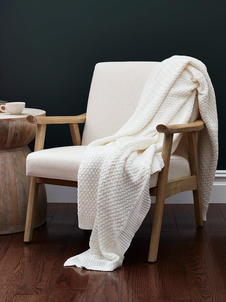 Boll & Branch Pickstitch Bed Blanket