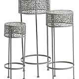 Set of Outdoor Plant Stands