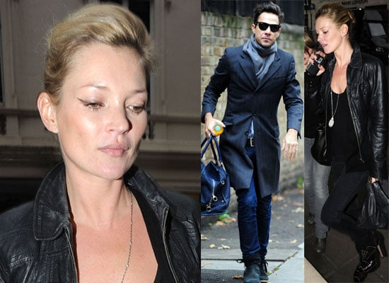 Gallery of Pictures of Kate Moss and Jamie Hince out in London, Kate Moss Was Offered Claudia Schiffer's Part in Love Actually,
