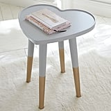 The Emily & Meritt Heart Side Table