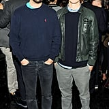 Jack McCollough and Lazaro Hernandez at Net-a-Porter's party at Omar's. Neil Rasmus/BFAnyc.com
