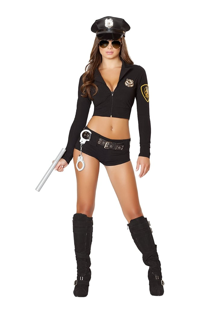SSQUEEN Womenu0027s Sexy Police Uniform  sc 1 st  Popsugar : cheap police costumes  - Germanpascual.Com