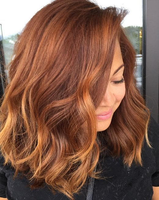 Pumpkin Spice Hair Color Trend POPSUGAR Beauty - Hairstyle color pic