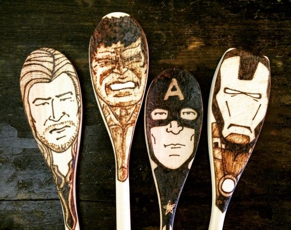 Avengers Kitchen Utensil Set