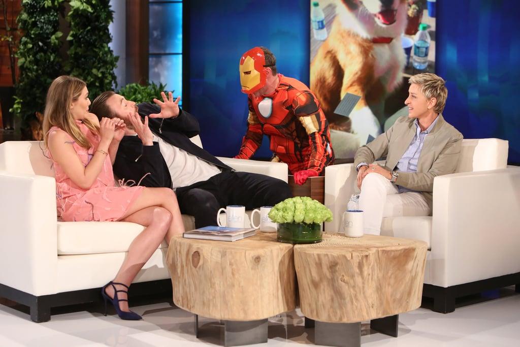 Ellen DeGeneres Scaring Guests | GIFs