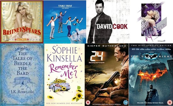 Information and Pictures of the Best DVD, Book and CD Releases in December 2008