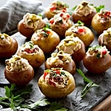 Mini Goat Cheese Stuffed Potatoes