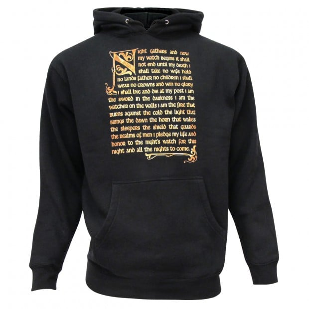 Night's Watch Hoodie ($25, originally $45)