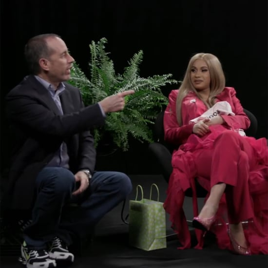 Cardi B and Jerry Seinfeld on Between Two Ferns June 2018