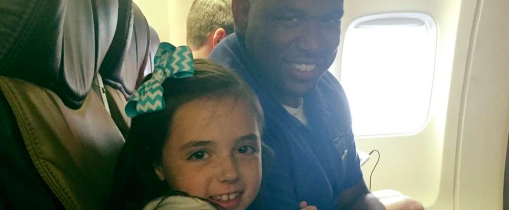 Southwest Flight Attendant Comforts Scared Little Girl