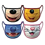 Size Small: Disney Character Cloth Face Masks in Small ($20) Size Medium: Disney Character Cloth Face Masks in Medium ($20) Size Large: Disney Character Cloth Face Masks in Large ($20)
