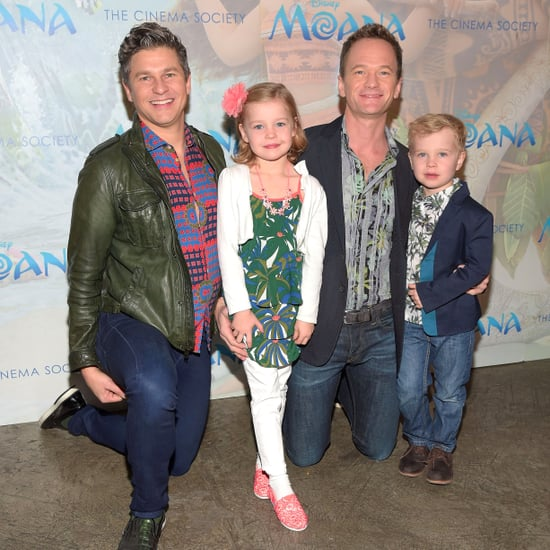 Neil Patrick Harris and Family at Moana NYC Screening 2016