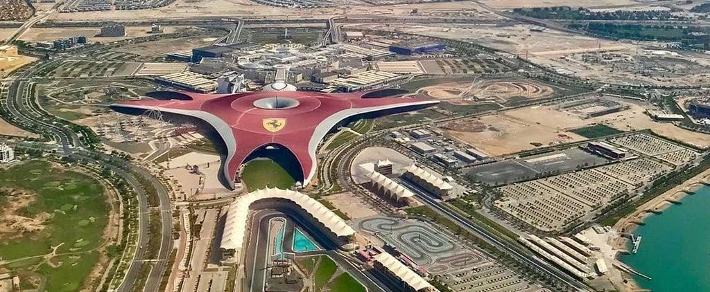 عالم فيراري أبوظبي يطلق لزواره عرض الغروب 2019