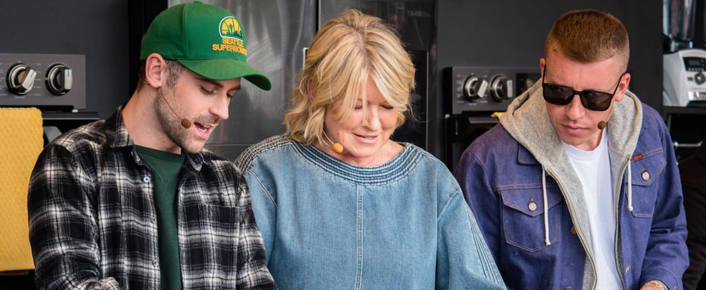 """Macklemore Vouches For Martha Stewart's """"Absolutely Incredible"""" Chicken"""