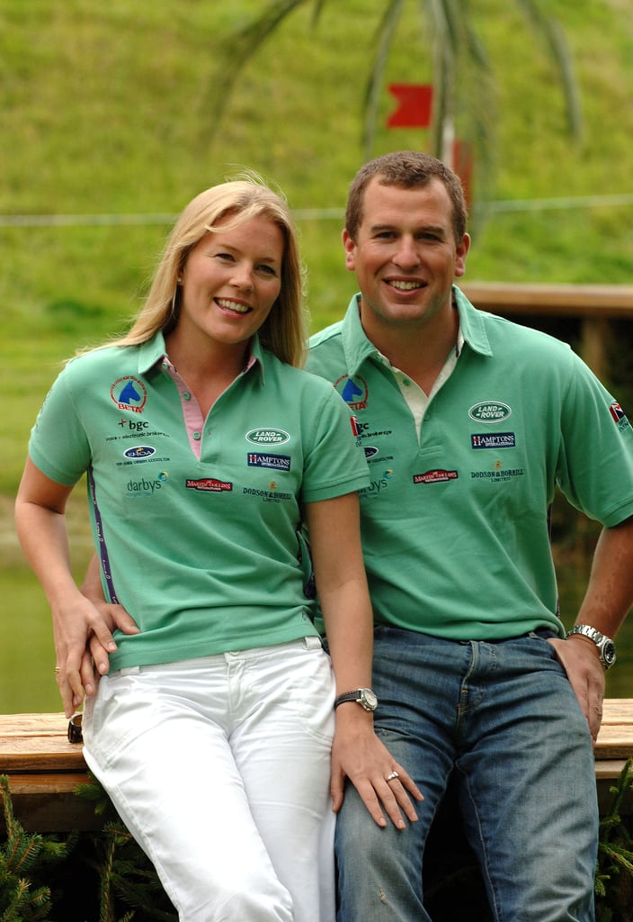 Peter Phillips and Autumn Kelly Engagement Announcement, August 2007