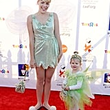 Busy Philipps and Her Daughter Birdie as Tinker Bells