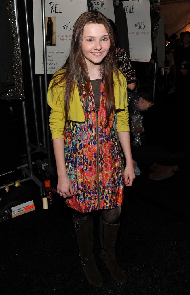 Photos of Celebrities at New York Fashion Week 2010
