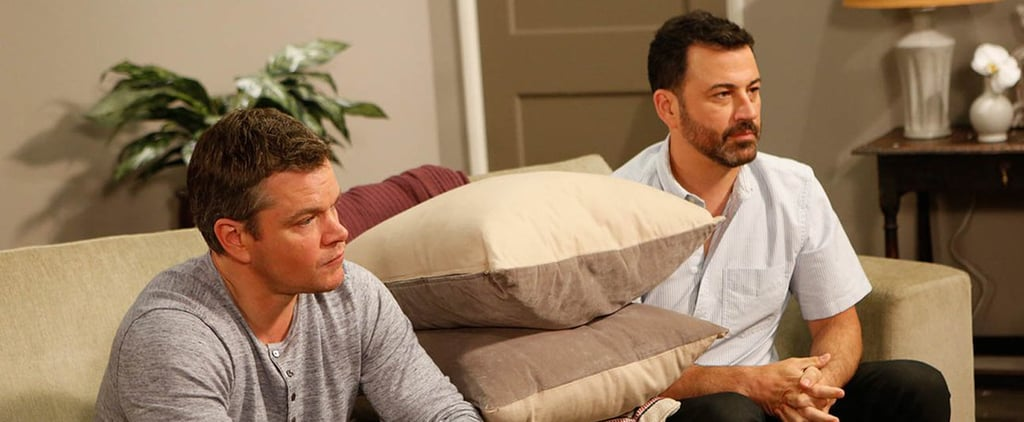 Matt Damon and Jimmy Kimmel Bicker Like an Old Married Couple During Their Therapy Session
