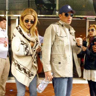 New Couple Kate Hudson and Lance Armstrong Out in Monaco