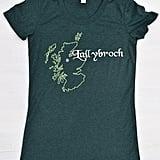 An Embroidered Lallybroch T-Shirt