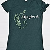 Embroidered Lallybroch Tee ($25)