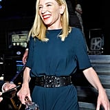 Cate Blanchett couldn't contain her excitement.