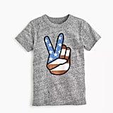 J.Crew Peace Sign T-Shirt