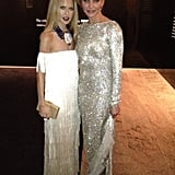 Glamour girls Rachel Zoe and Cameron Diaz got together for a photo. Source: Twitter User RachelZoe